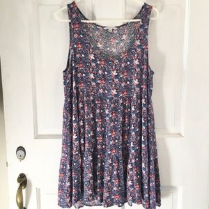WOMEN'S Amer. Eagle Outfitters Floral Dress SIZE L